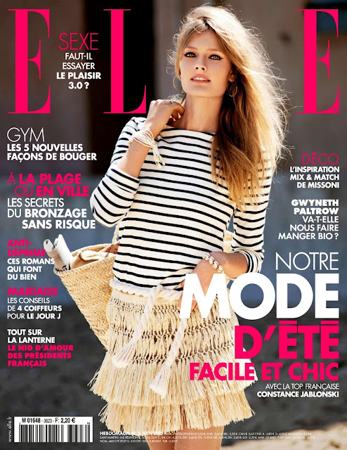Fashion Model @ Constance Jablonski for ELLE France, June 2015