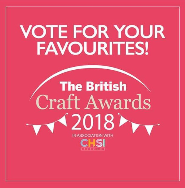 **I've been nominated for Best Crochet Blog of the Year**