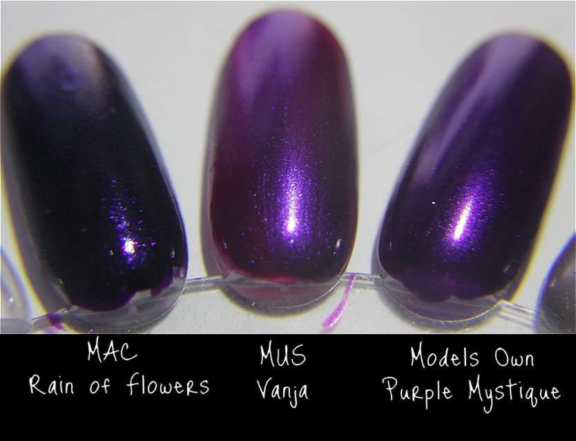 Review: MAC Rain of Flowers nail polish   Beauty Make-up