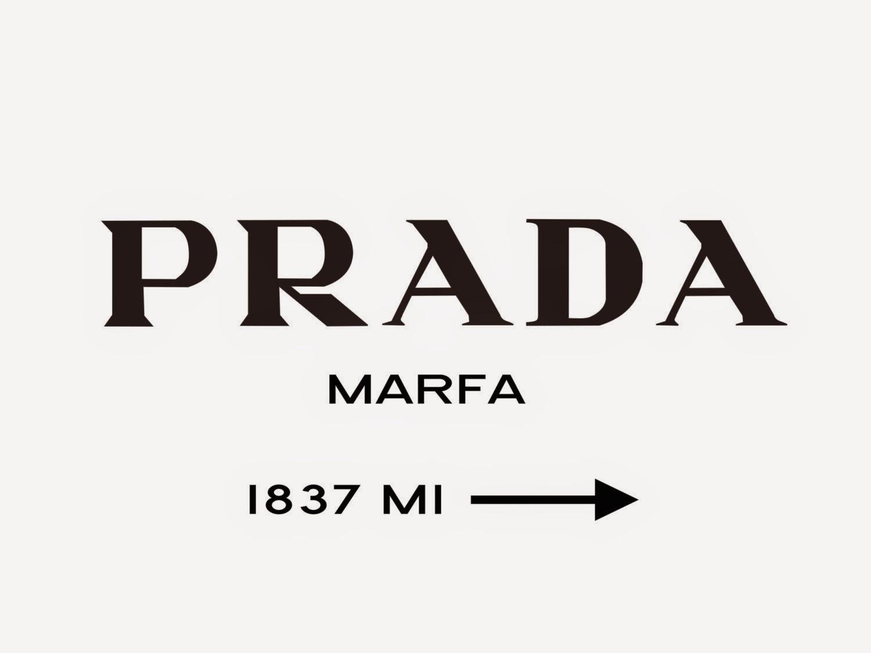 Prada Marfa Sign DIY