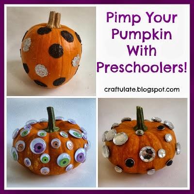 Preschooler Pumpkins