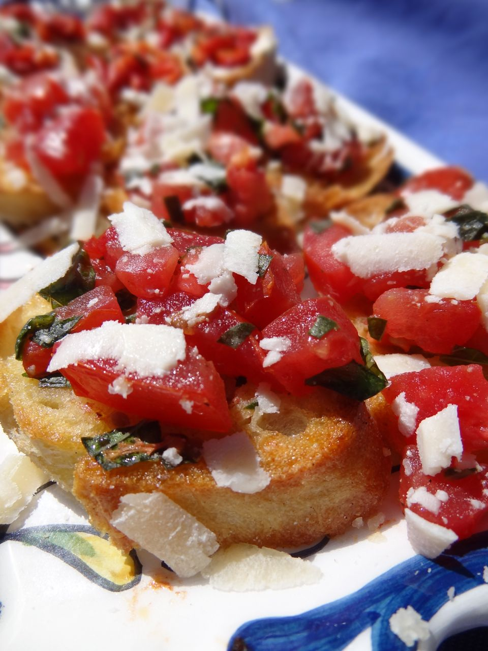scrumpdillyicious bruschetta tomato basil red pepper goat cheese. Black Bedroom Furniture Sets. Home Design Ideas