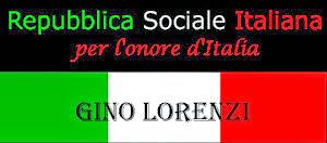 GINO LORENZI UN MARTIRE DELLA R.S.I.
