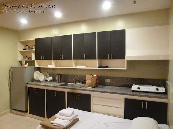 Our Kitchen in Copacabana Apartment Hotel