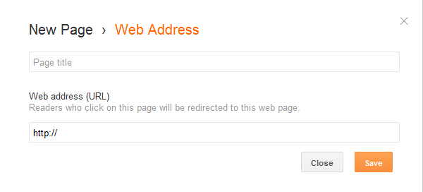 Redirect A Page In Blogger To Any Other Link NEW!