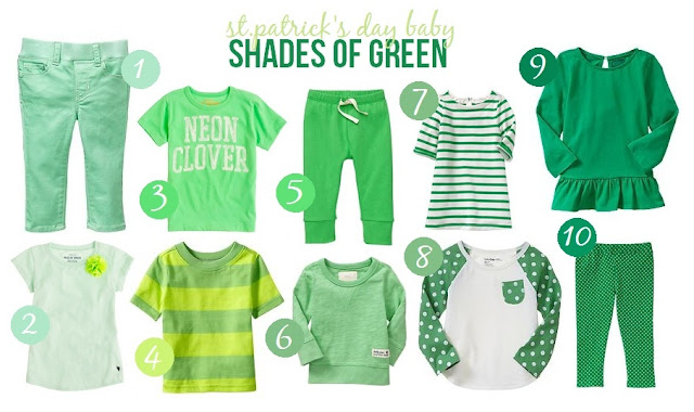 baby clothes for st. patricks day