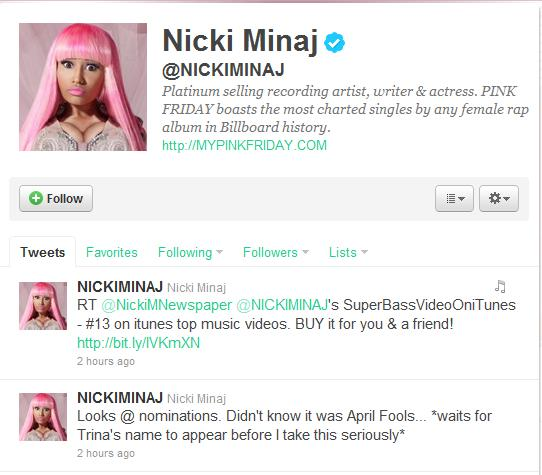 nicki minaj 2011 bet awards. hot Nicki Minaj New Years 2011