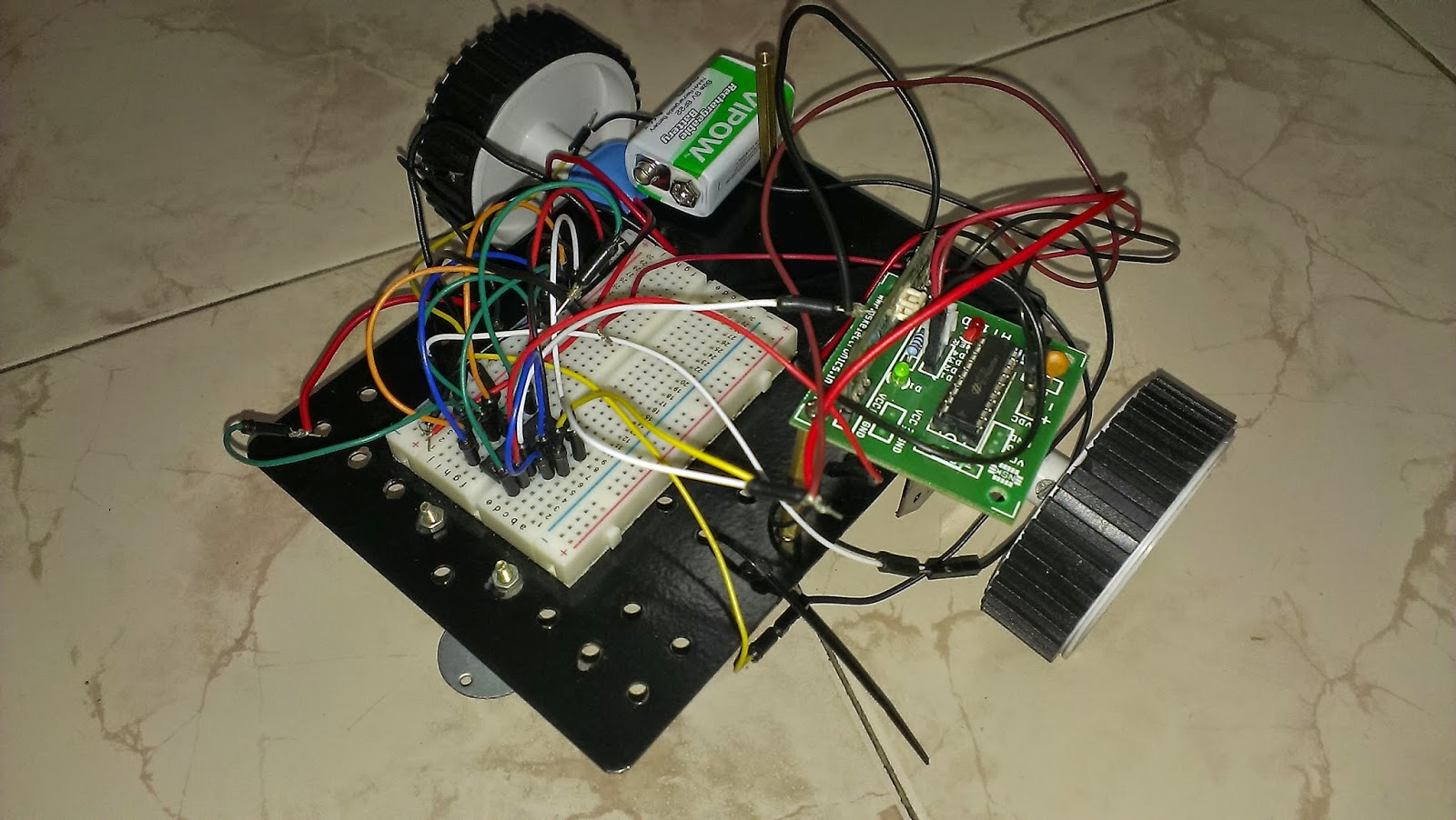 Cell Phone Controlled Robot Using 8051