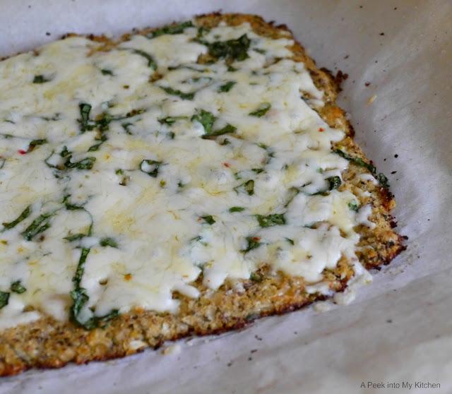 Cauliflower Crust Pizza  ~ Day 22