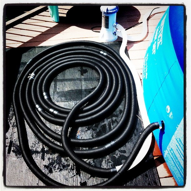 DIY Solar Pool Heater!