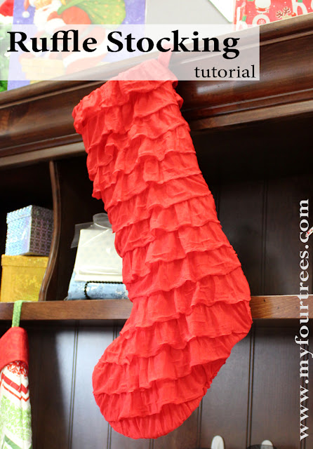 Ruffle Stocking Tutorial