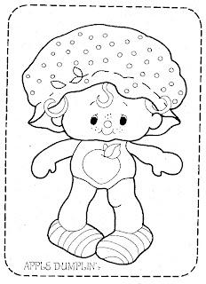 Desenho da moranguinho