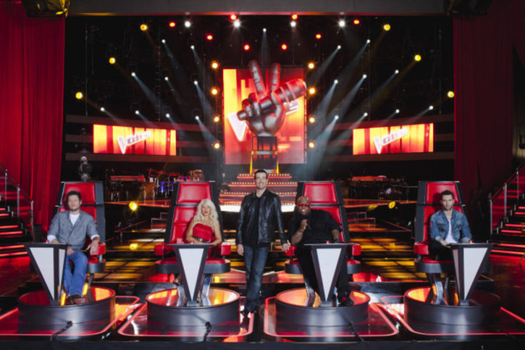 the voice tv show poster. hot dresses the voice tv show