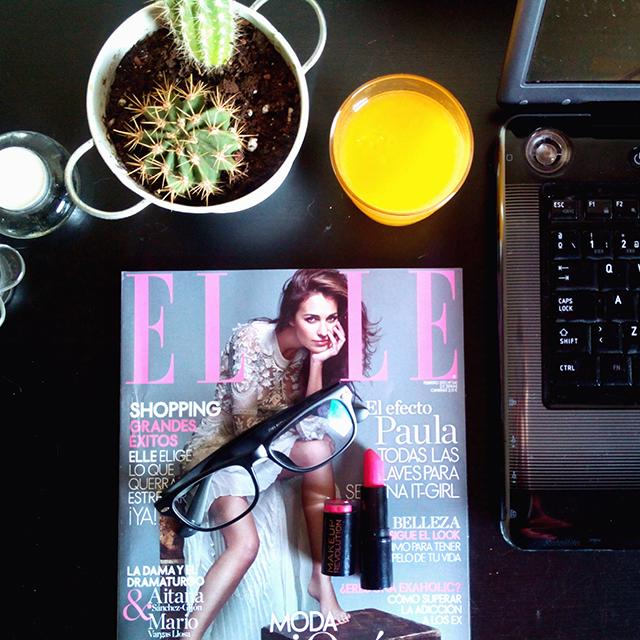 Revista Elle febrero 2015