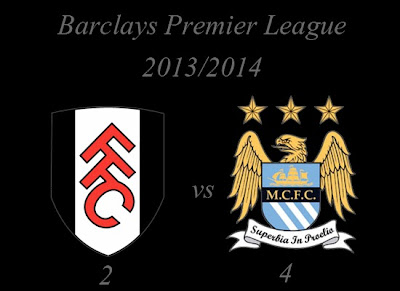 Fulham vs Manchester City Barclays Premier League 2013