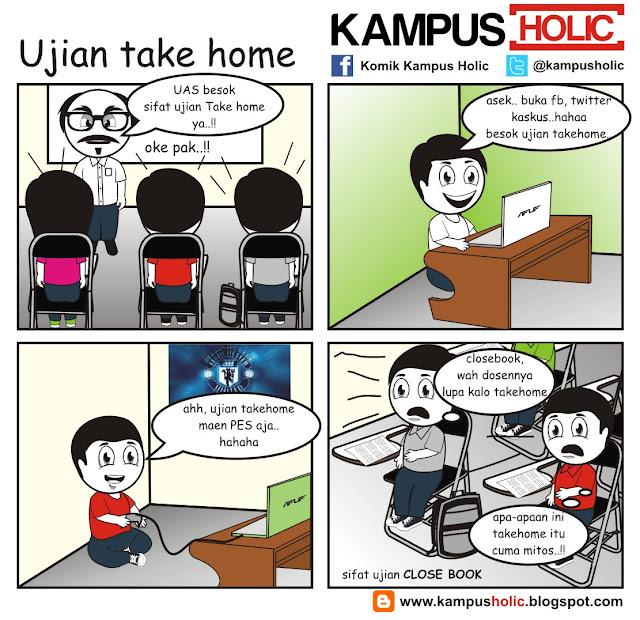 #007 Ujian take home komik kampus holic