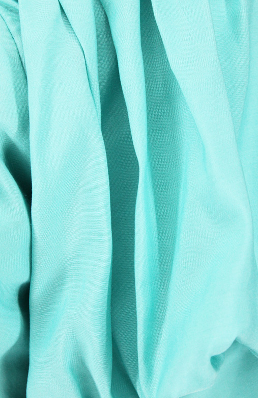 Seafoam Regal Victorian Blouse with Puffy Sleeves