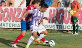 El abulense Mayoral, baja por lesión en el Real Valladolid