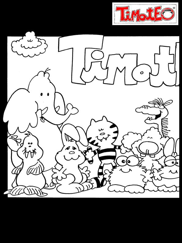 IMÁGENES PARA COLOREAR DE TIMOTEO | timoteo