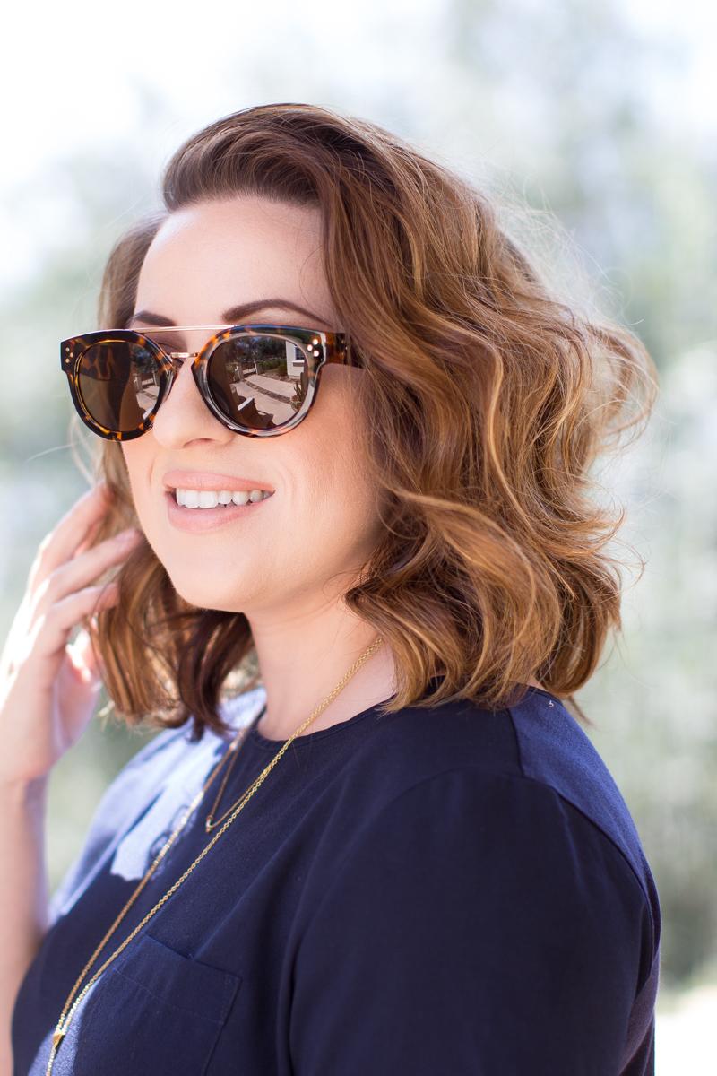 fantas-eyes browbar tortoise sunglasses