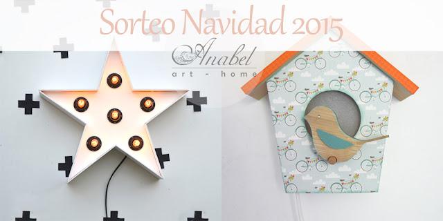 Sorteo Navidad blog Anabel art-home