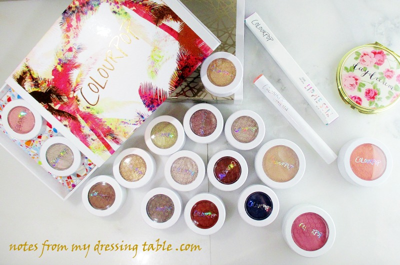 Talking ColourPop At Last! Stuffs I Bought notesfrommydressingtable.com