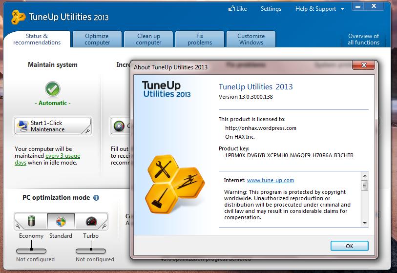 скачать ключ Tuneup Utilities 2013 скачать бесплатно на русском языке - фото 6
