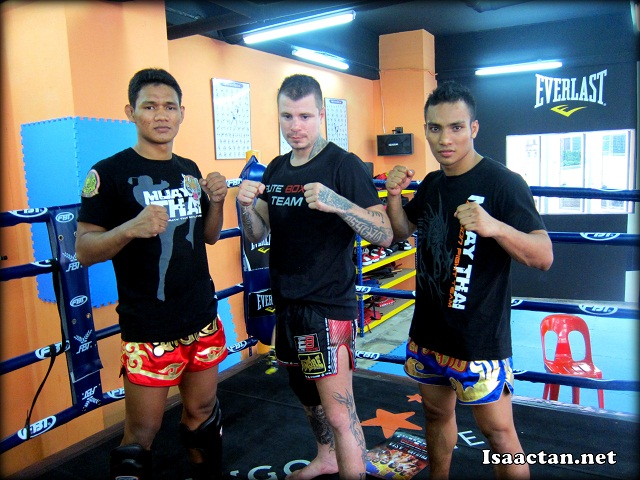 Muay Thai fighters, all ready for the upcoming Thailand vs Challenger Series tomorrow