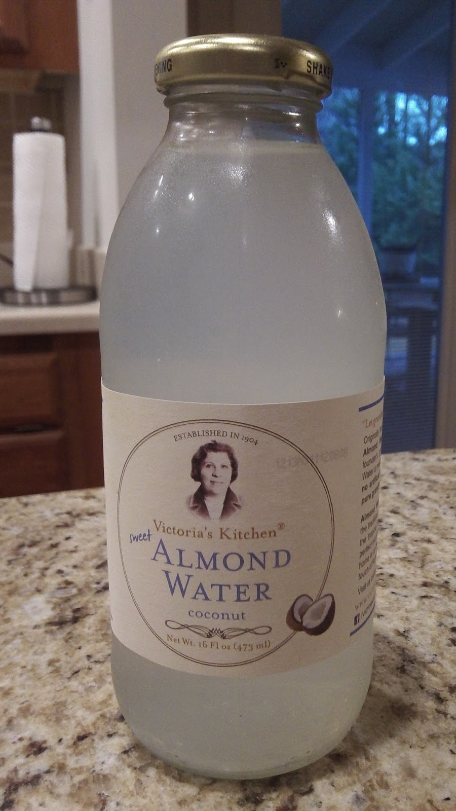 victorias kitchen almond water coconut - Victorias Kitchen Almond Water