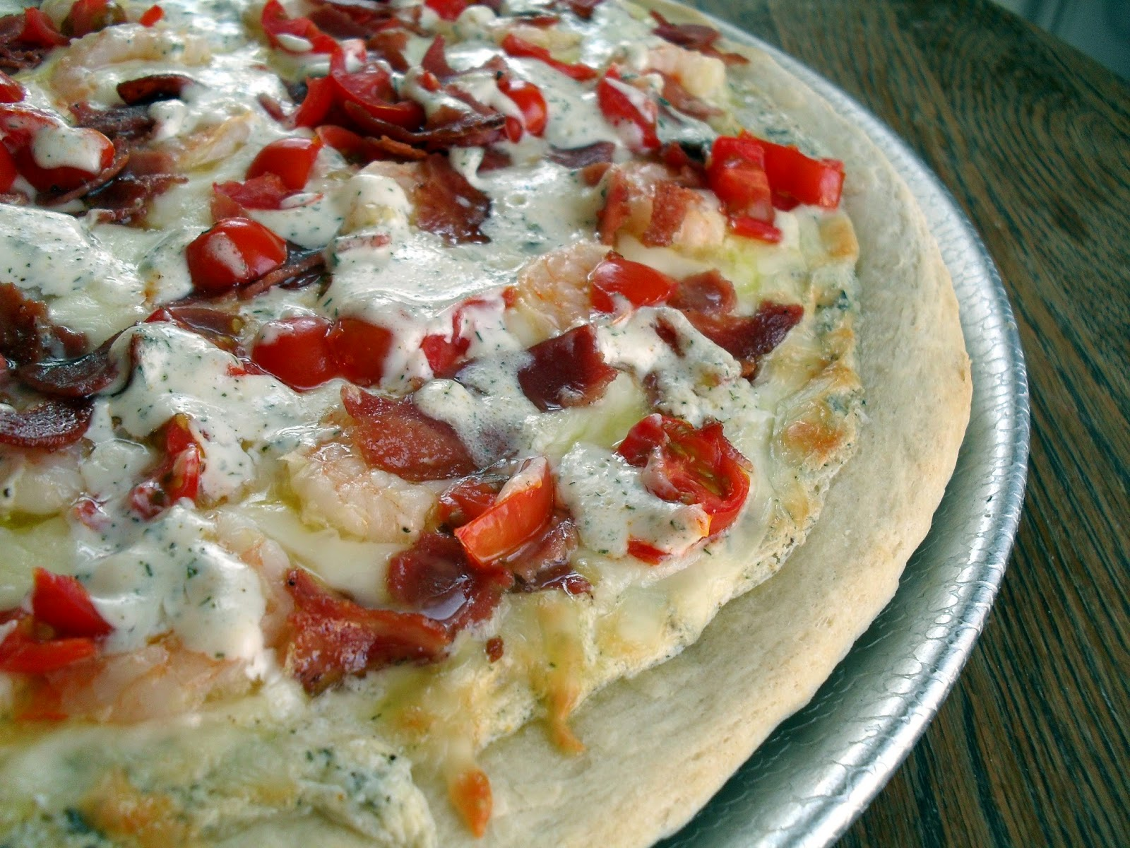 Shrimp Bacon Pizza Recipe