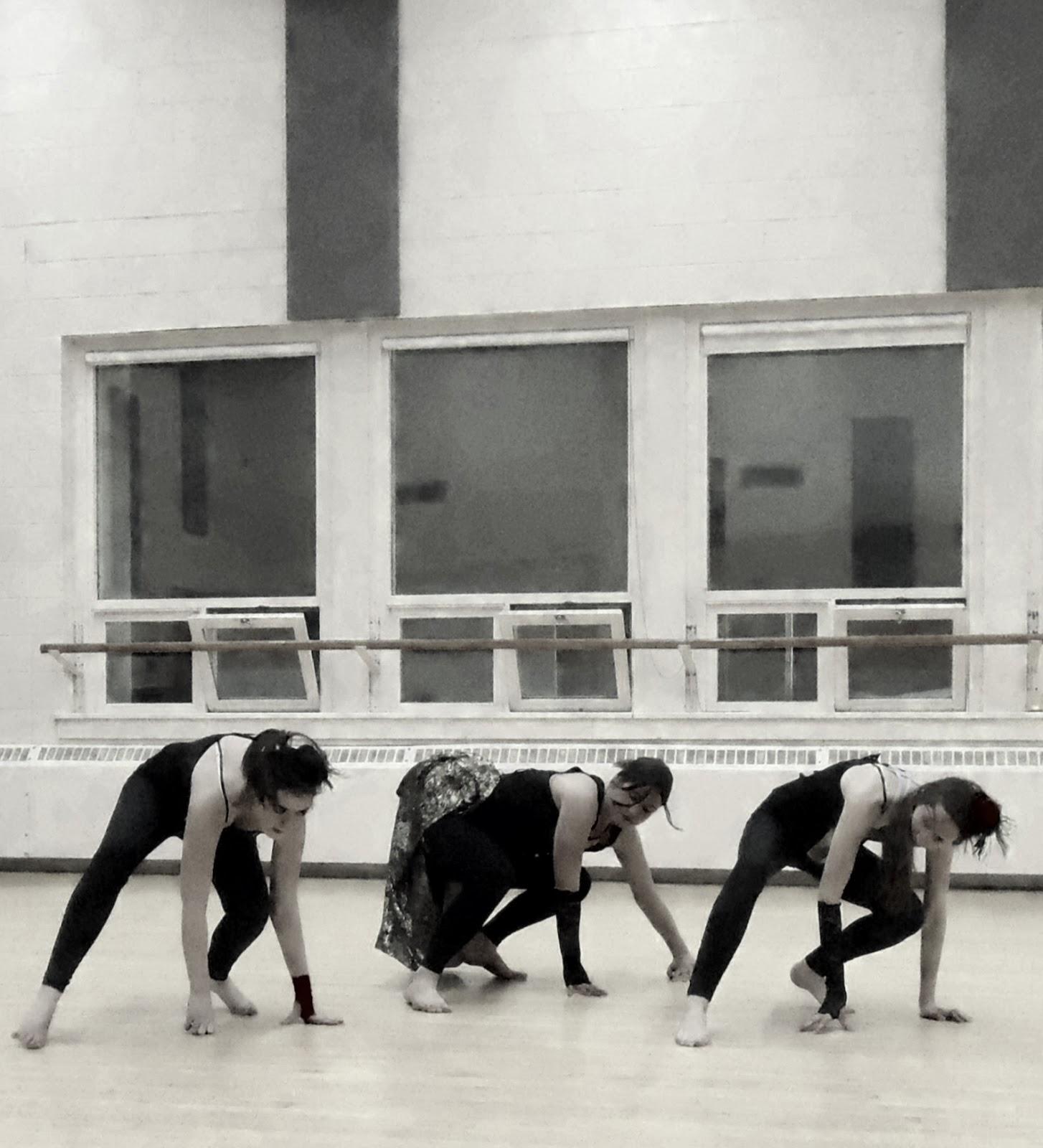 Dancers prepare at UAlberta