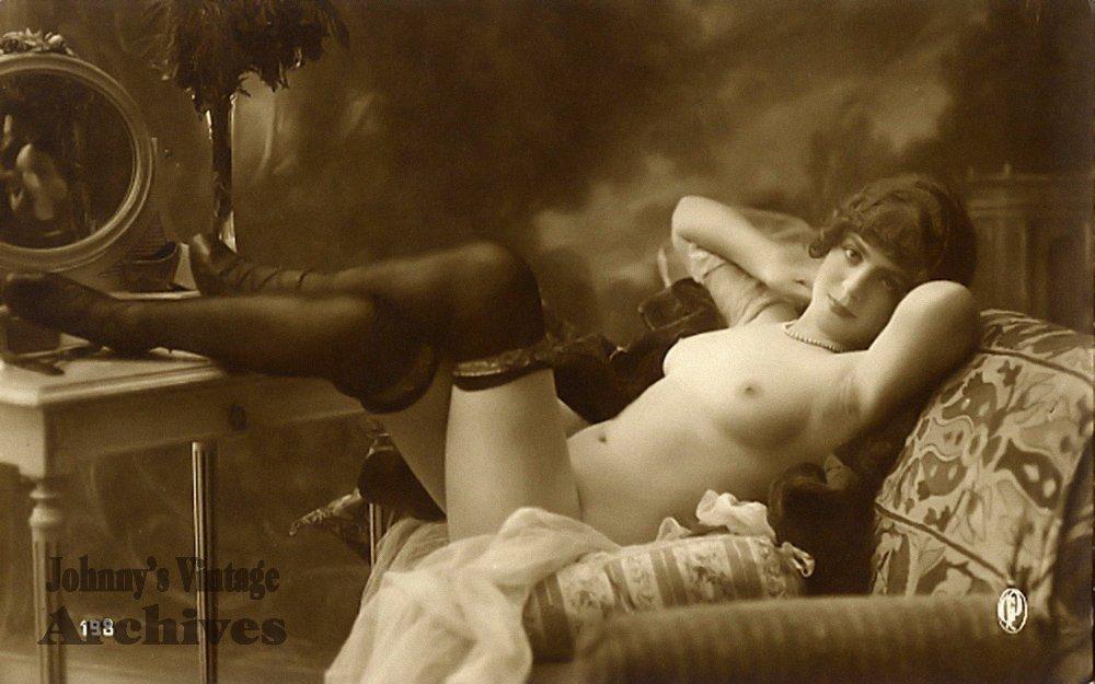 Эротические фотографии начала 20 века