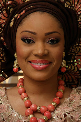 Breathtakingly beautiful Yoruba bride! NIGERIA