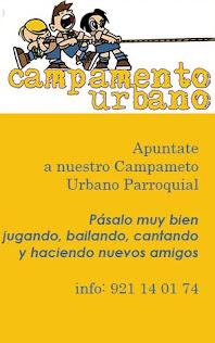 CAMPAMENTO URBANO 2106