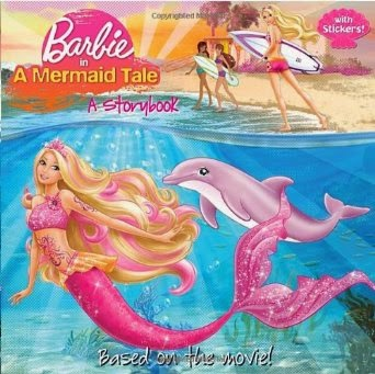 Barbie In A Mermaid Tale, A Story Book by Mary Man-Kong