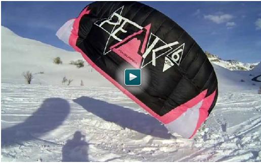 Video cours de snowkite
