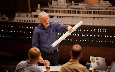James Cameron heads back to the Titanic