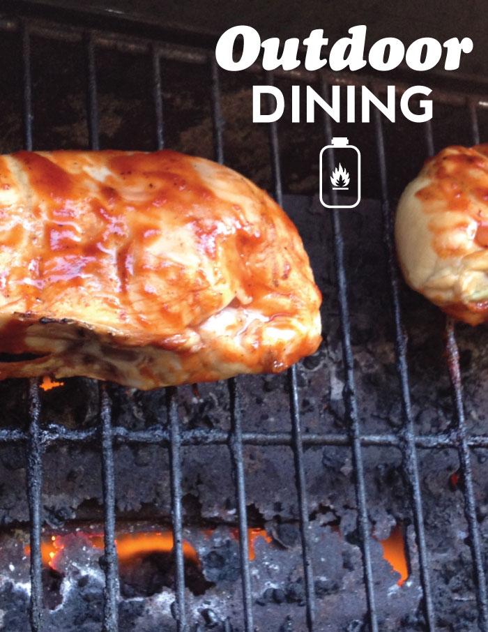 Zoë Fullen - Calgary outdoor dining
