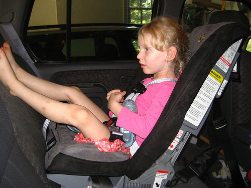 Car Seat Straps Legs Too Tight Toddler