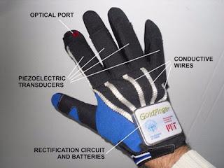 Goldfinger: Το έξυπνο γάντι που παράγει ενέργεια από τις κινήσεις των δαχτύλων