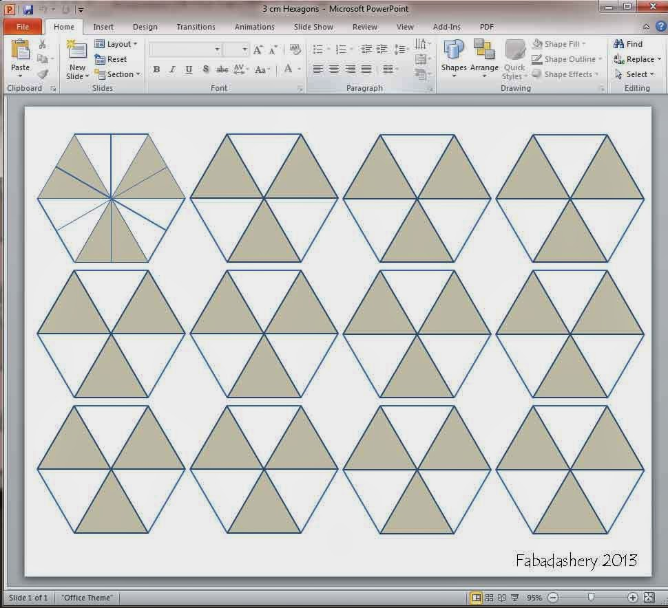 Hexagon Template  eBay