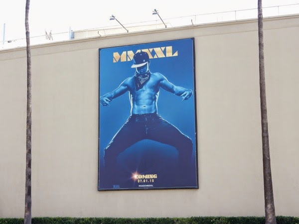 Magic Mike XXL movie teaser billboard