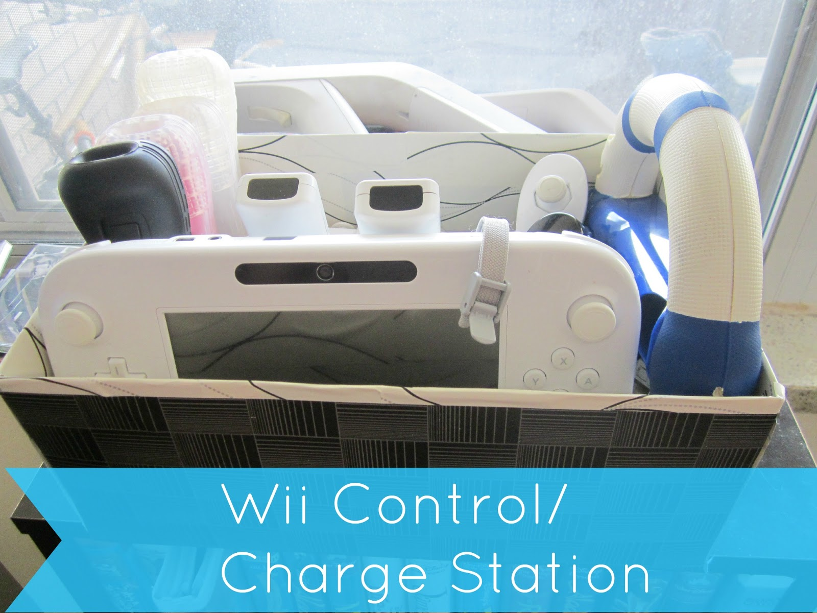 diy wii control charge station