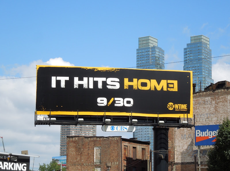 Homeland season 2 teaser billboard NYC