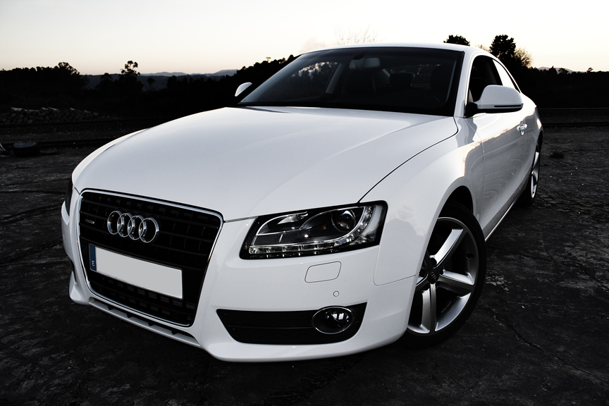 Cars Audi A White - All white audi
