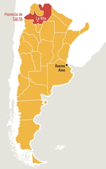 Un Año En Buenos Aires La Linda Salta - Argentina map salta
