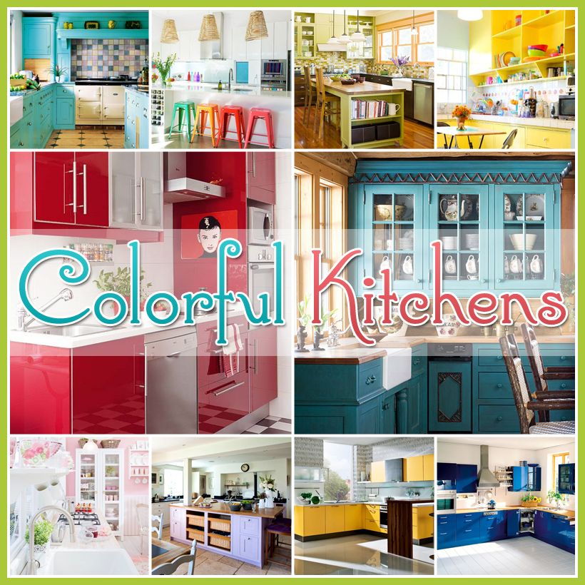 ... Me For A Few Minutes And Check Out Some Colorful Kitchensu2026I Mean The  Kind Of Color That Puts A Major Pizzaz Into Your Decor! Lotu0027s Of Eye Candy  Awaits!