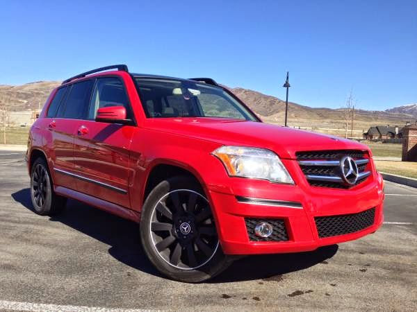 2011 Red Mercedes Benz Glk350 Auto Restorationice