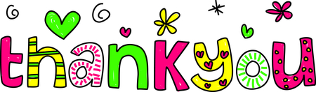 Image result for Free Clip Art of thank you
