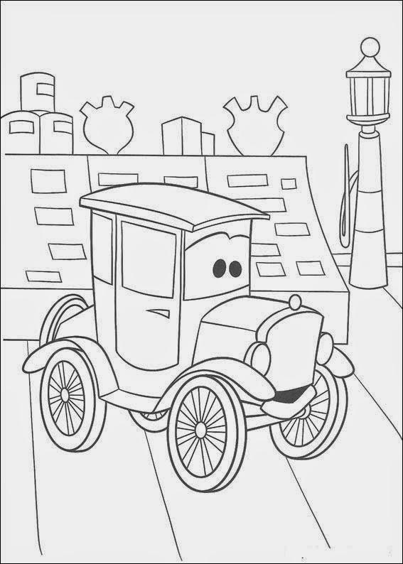 auto clásico de cars